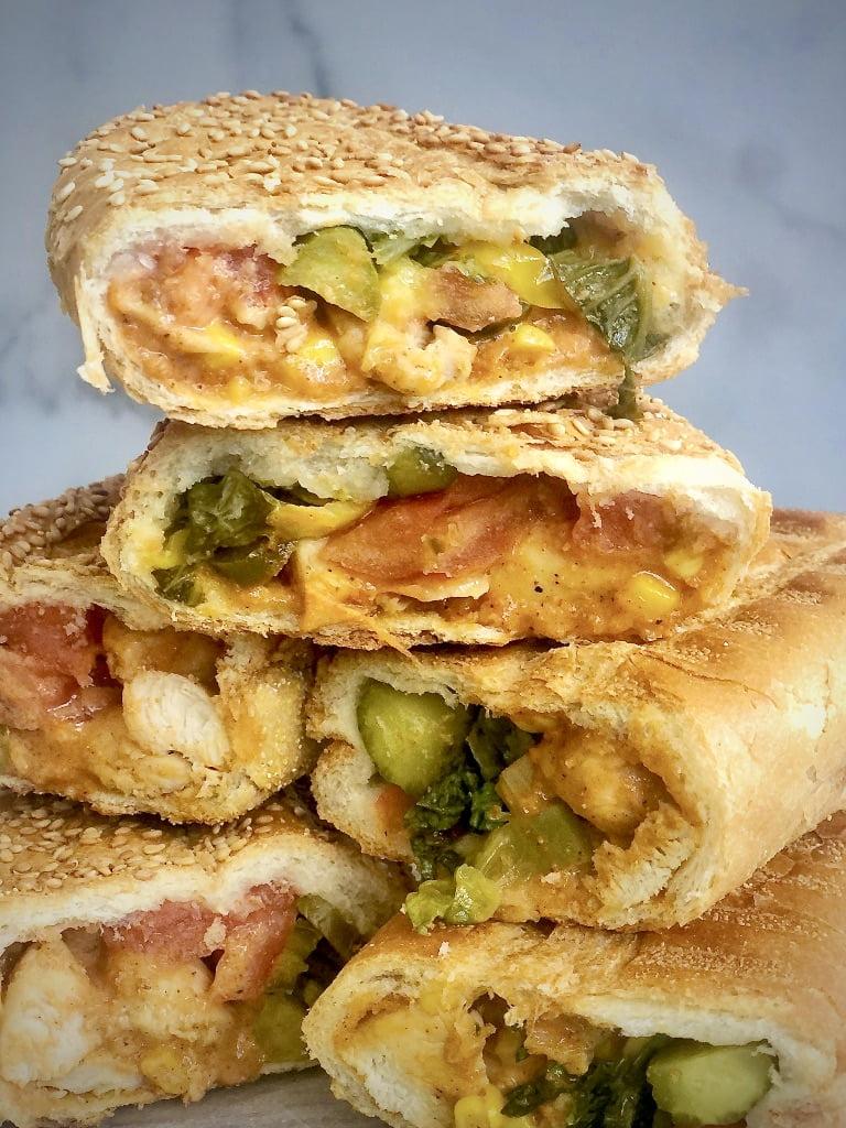 Easy Grilled Chicken Sub Sandwich