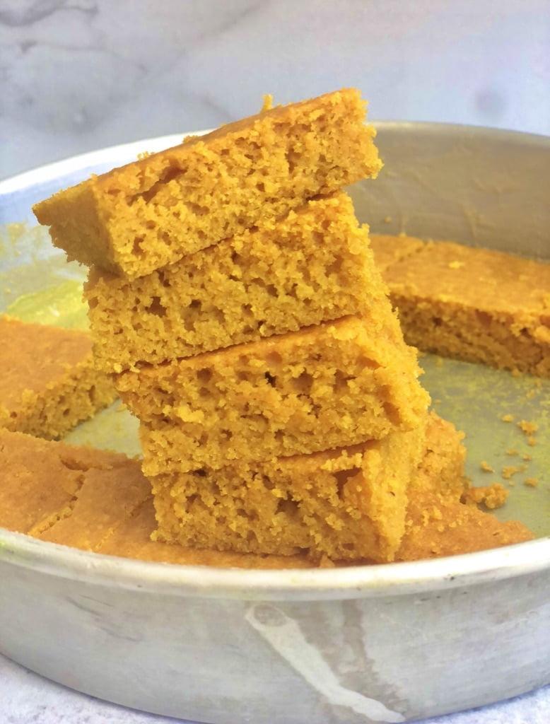Low Carb Turmeric Cake -Sfoof