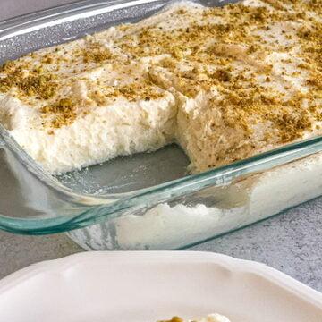 Halawit Elroz- Rice and Cheese Dessert
