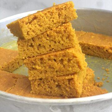 Low Carb Turmeric Cake-Sfoof
