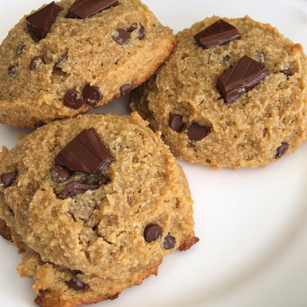 almond flour chocolate cookies