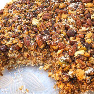 Honey Date Nut Bars