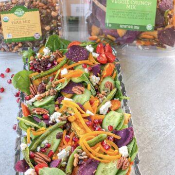Honey mustards harvest salad