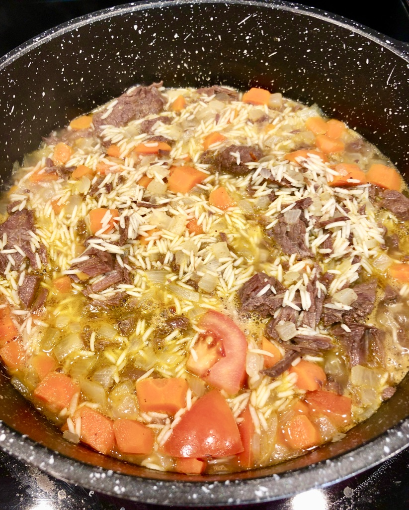 kabsah is made with spiced rice and topped with juicy beef or lamb to make a lamb kabsa, kabsa chicken