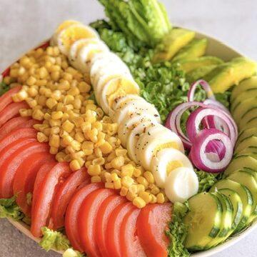 Honey Garlic Balsamic Chef Salad