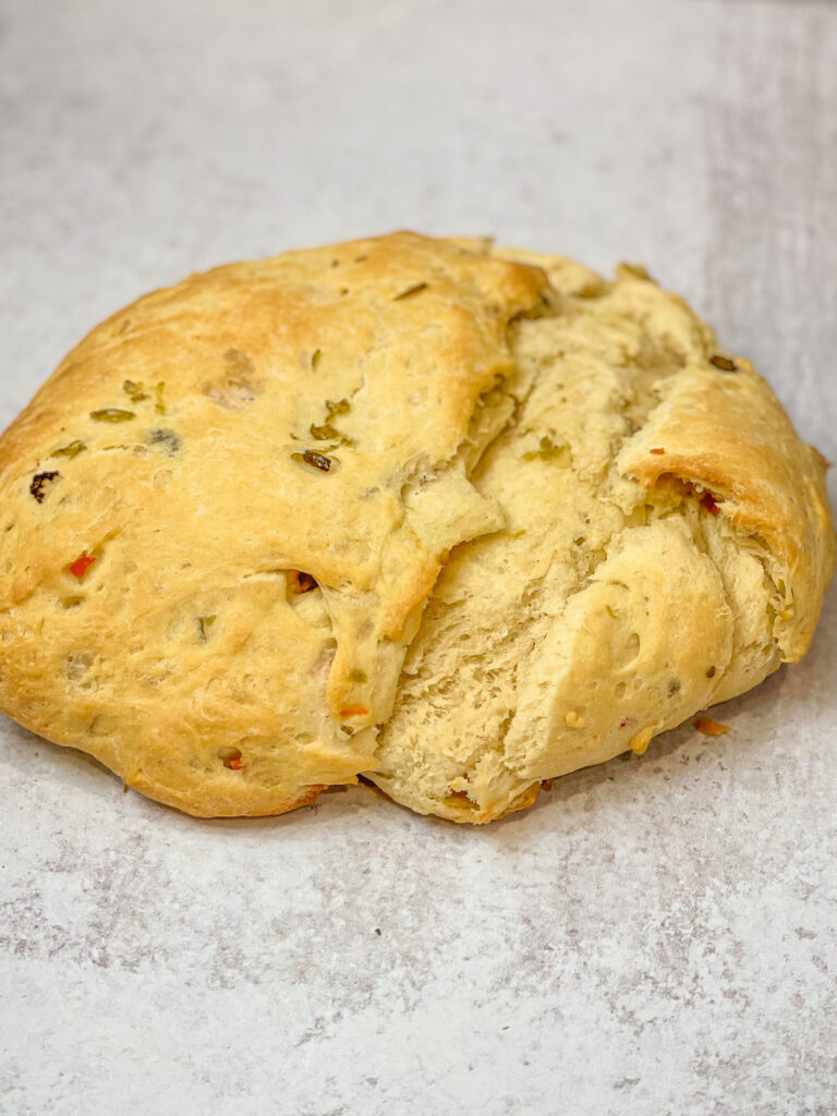 Easy Olive Bread