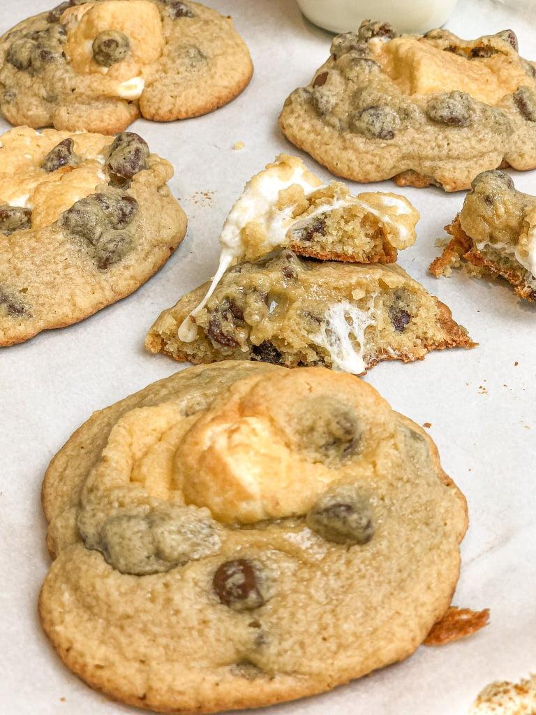 Stuffed Marshmallow Cookies