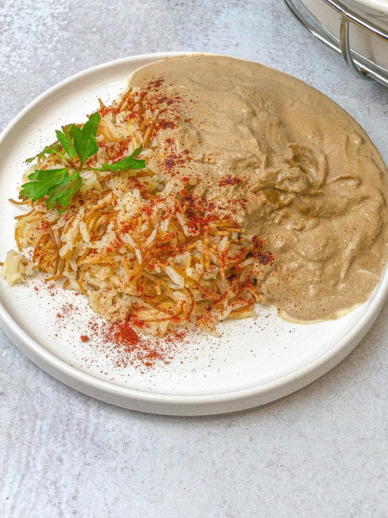 Easy Persian Walnut Stew - Fesenjoon