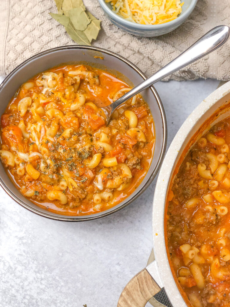 The Best American Beef Goulash