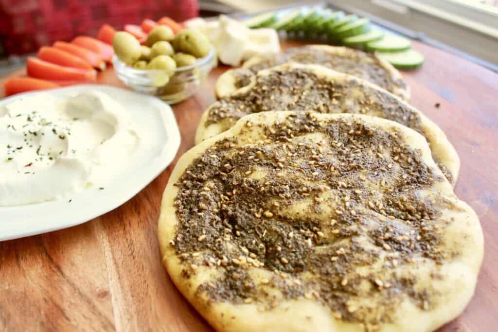 Manakeesh recipe