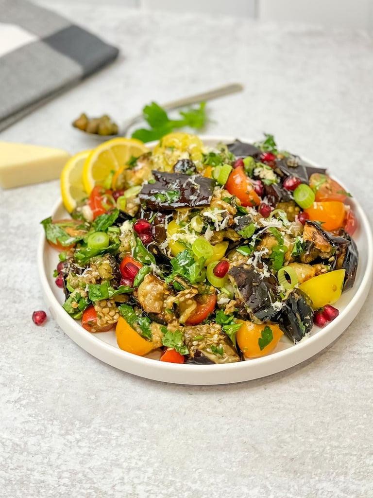 Grilled Eggplant Salad