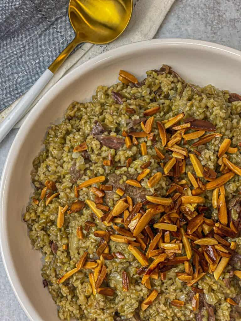 Hearty and delicious, Freekeh is comfort food at its finest!