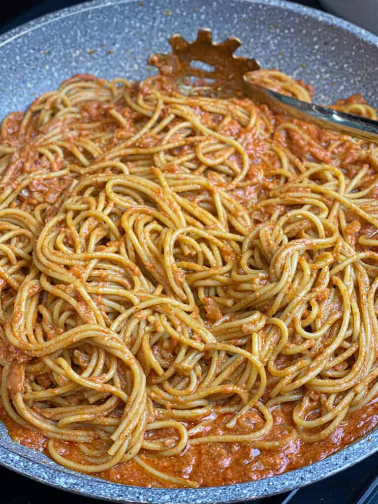 Gigi Hadid's Alla Vodka Pasta Recipe