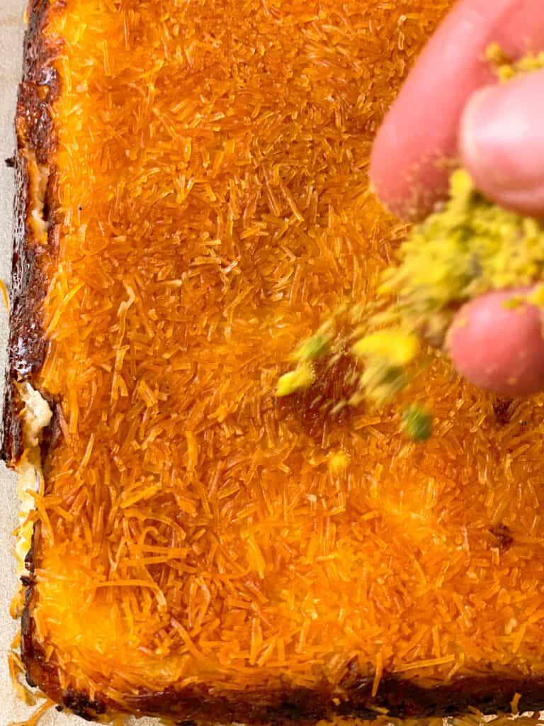 Kanafa with Melted Cheese