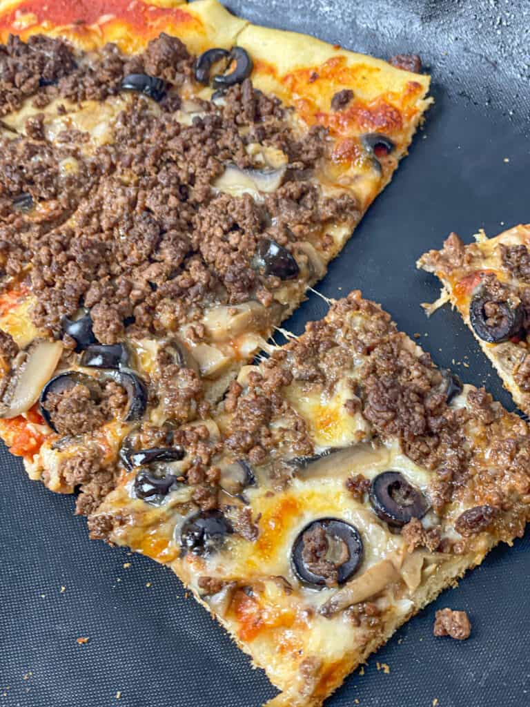 Cheesy spicy pizza is the most delicious easy dinner option for families who crave flavor and heartiness