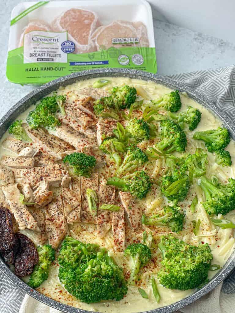 chicken alfredo recipe also known as fettuccini
