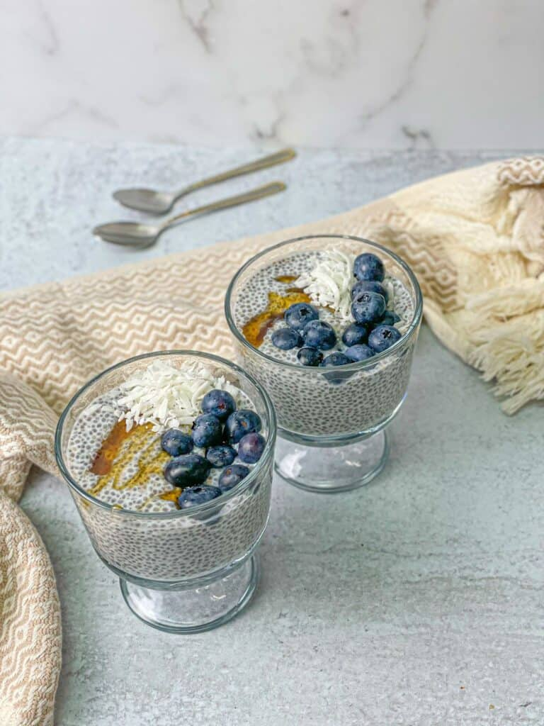 A healthy and delicious treat for young and old, Four-Ingredient Chia Seed Pudding is easy to prepare and fun to eat.