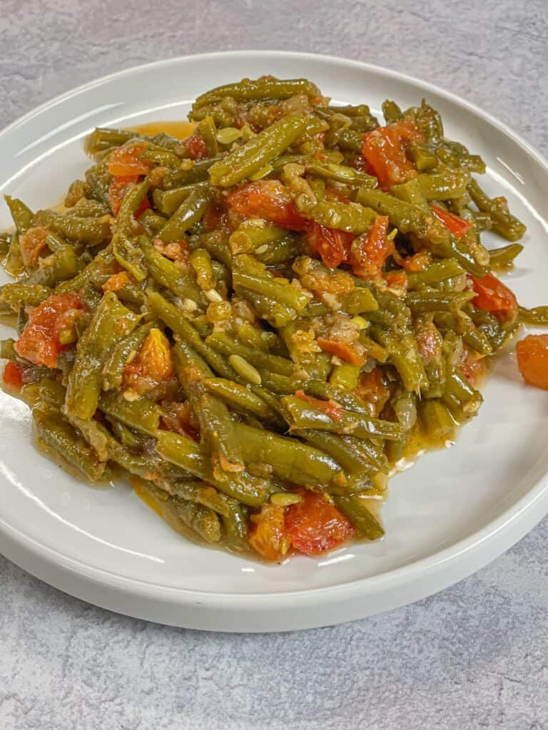 loubieh are lebanese green beans also known as loubie bzeit recipe