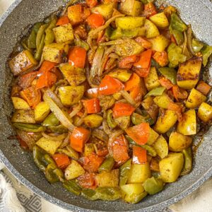 Skillet Fried Potatoes and Onions