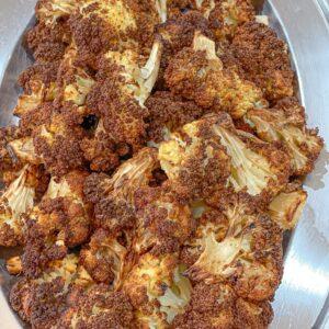 crispy crunchy air fryer cauliflower