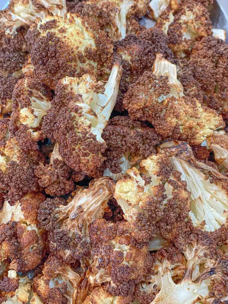 An easy way to prepare a healthy dish, this Crispy Crunchy Air Fryer Cauliflower recipe is delicious and can be served as a main dish, side dish, or appetizer!