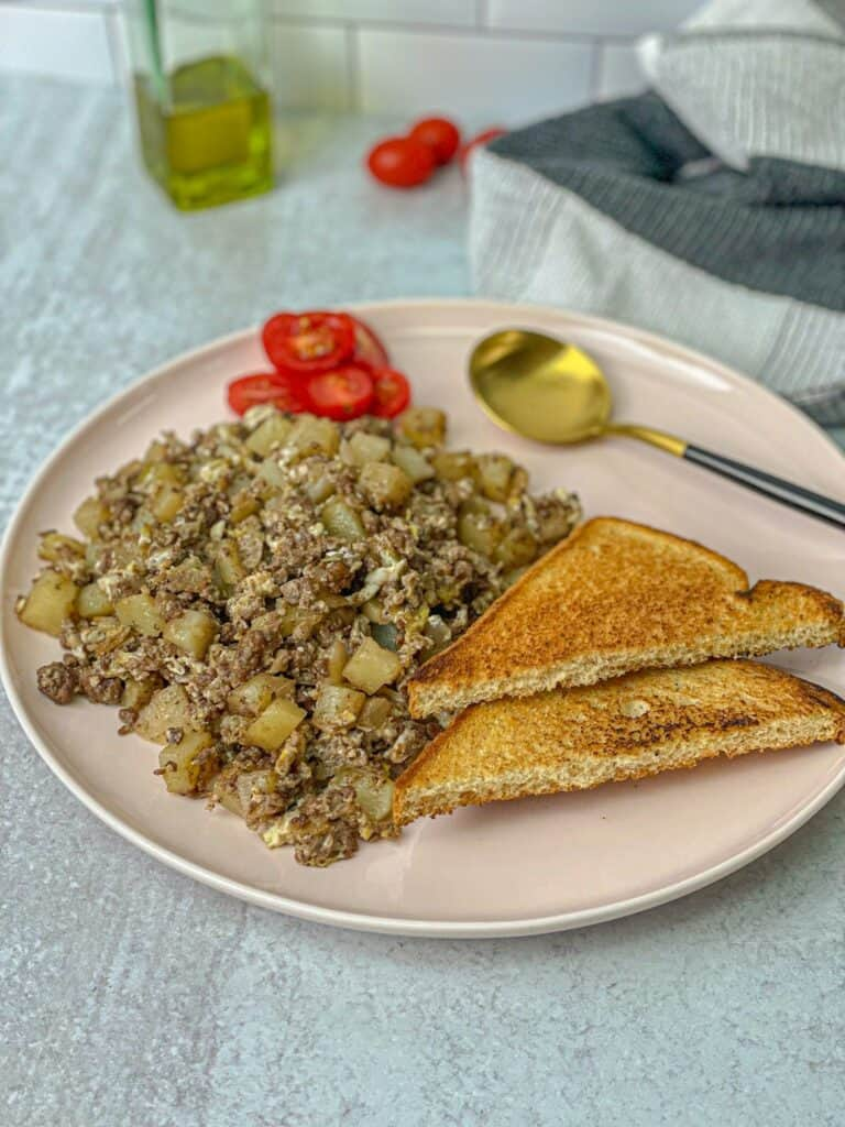 scrambled egg skillet