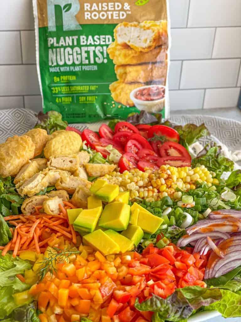 best vegan chicken salad , homemade bbq ranch dressing