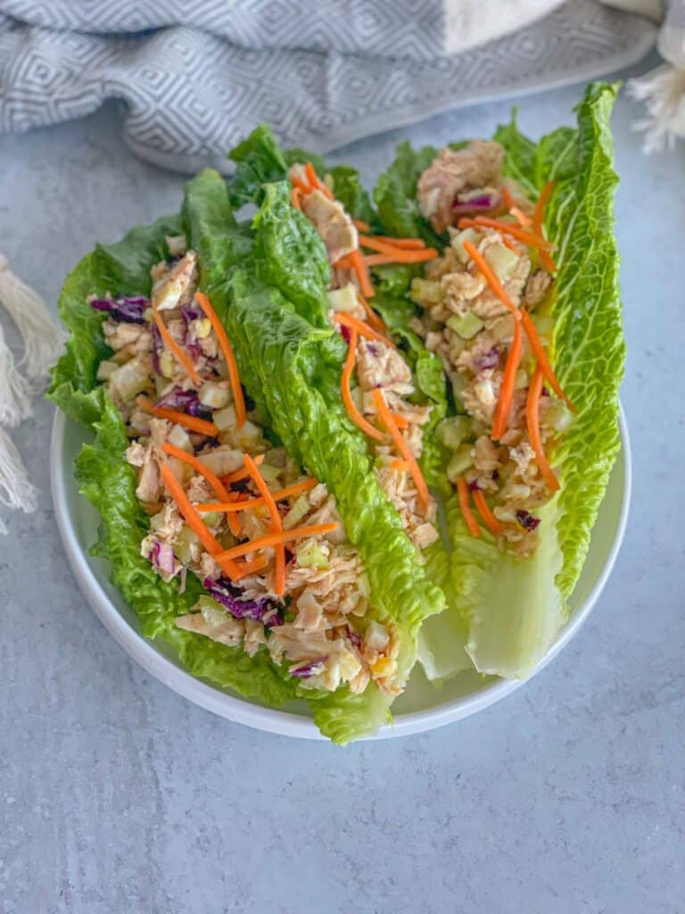 Healthy and easy-to-make tuna egg salad packed with protein