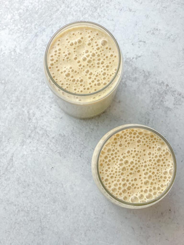 organic protein shake - banana protein shake