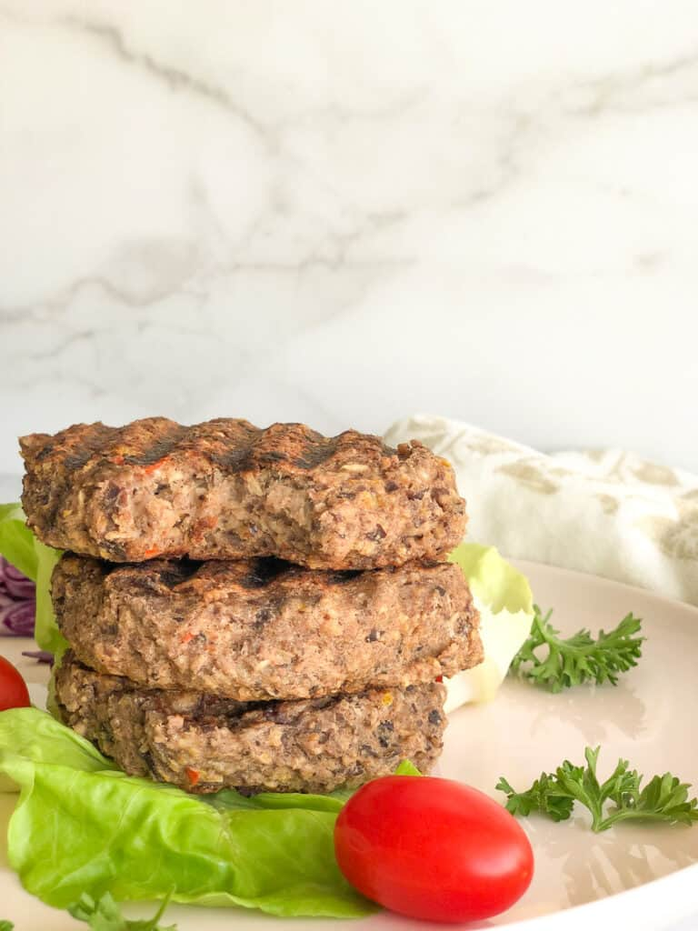 vegan burger recipe with oats