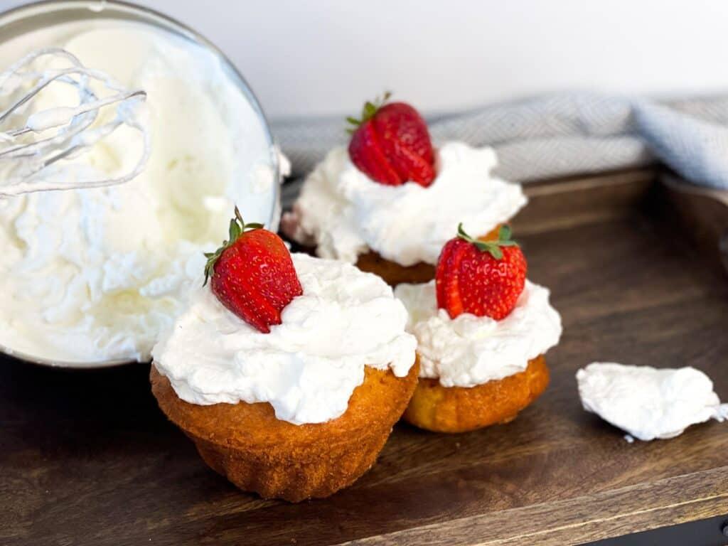 whipped cream for cake