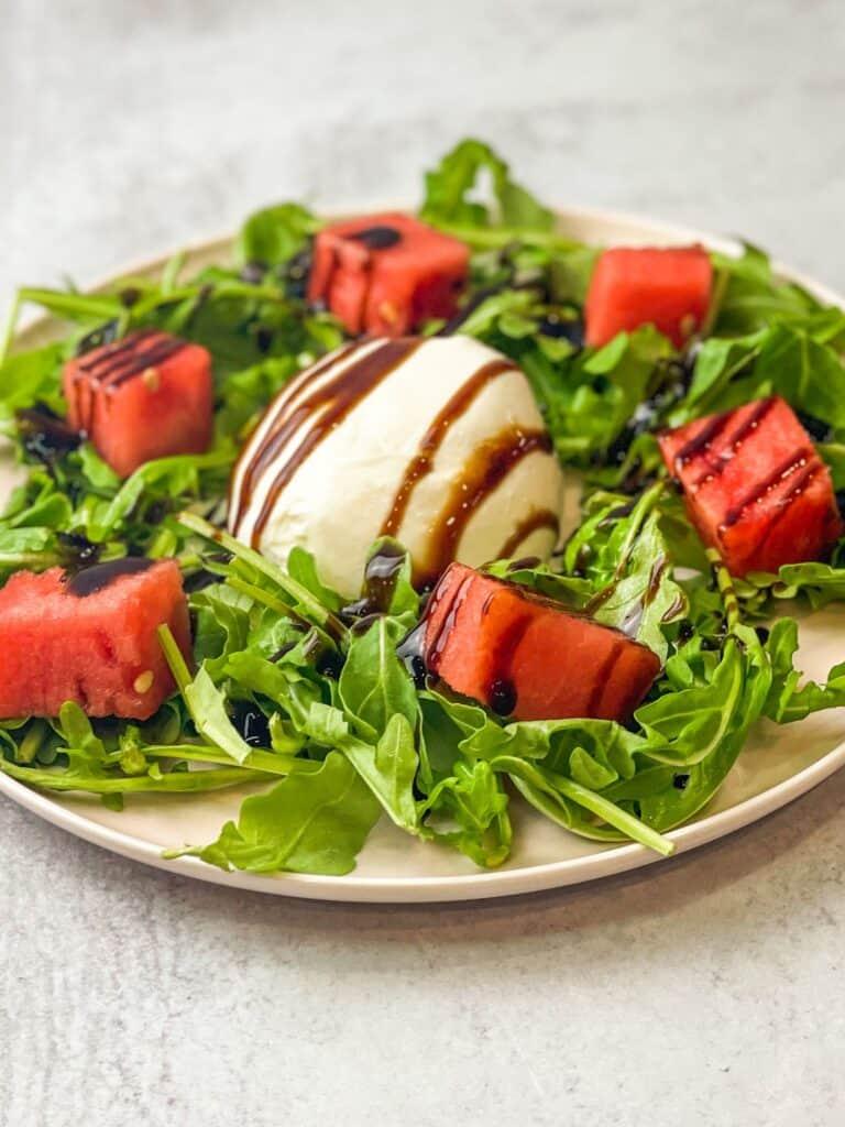 arugula burrata salad